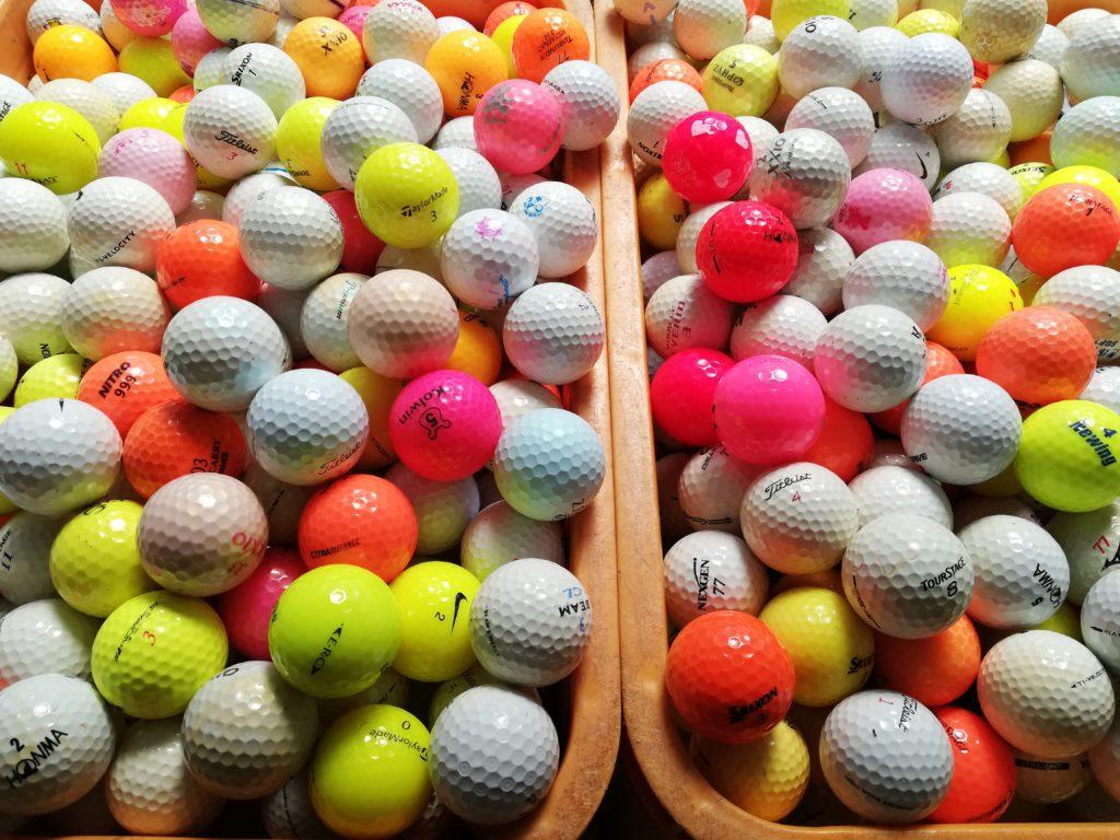 良質中古ゴルフボールが続々入荷中!