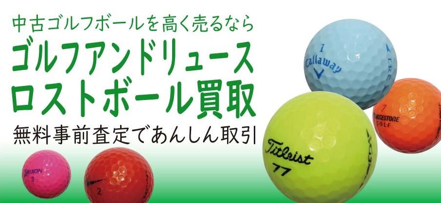 ゴルフアンドリュースロストボール回収